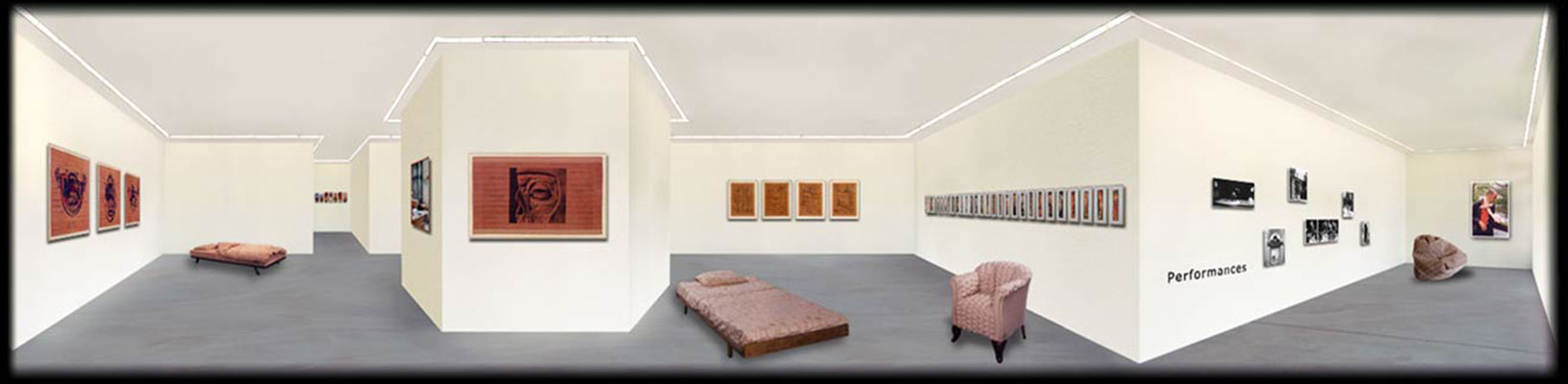 Before, © 1997 and before, A collection of works produced before 1997, shown as a virtuell exhibition