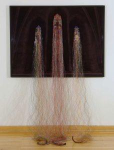 Apocryphal view, © 2012, Diasec, fishing line, Approx. 200 x 154 cm