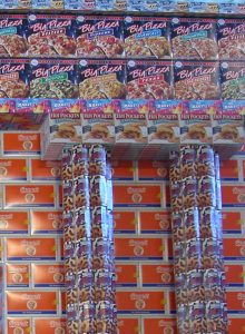 Triumph Arch, © 2004, Empty food packages, 350 x 400 x 120 cm