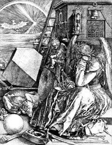 Melencolia I, Albrecht Dürer's famous engraving