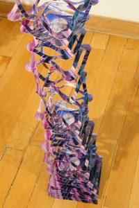Echo, Detail, © 2008, Printed garland, approx. 18 x 18 x 300 cm
