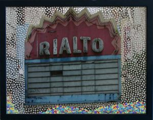 S Broadway – Los Angeles, © 2010, Perforated c-print, loose confetti, each 40 x 50 cm