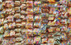 Cheaper than Gursky I, © 2008, C-print, Two pictures each: 150 x 280 cm