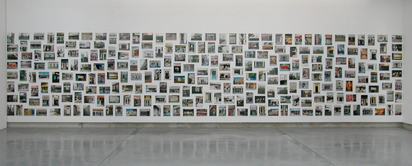 Paradise, © 1998-2005, Photography installation, C-prints, each one 20 x 30 cm