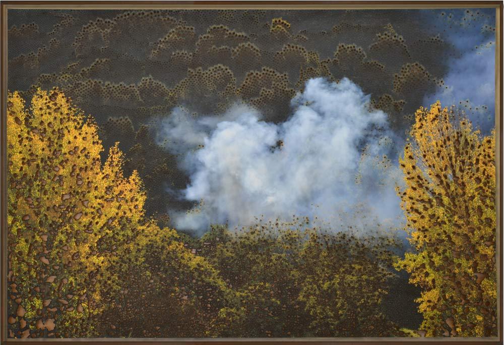 Birth of a Spirit, © 2019, Fine art print on, Hahnemühle paper with burns, 118 x 700 cm
