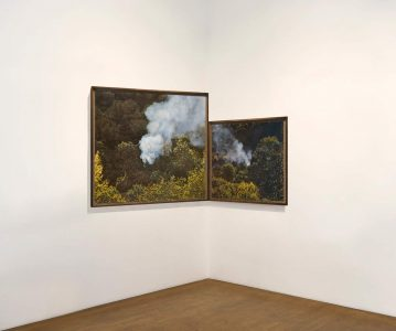 Groß- und Kleingeist,© 2019 Fine art print on Hahnemühle paper with burns, diptych118,7 x 128,7 cm + 78,7 x 78,7 cm