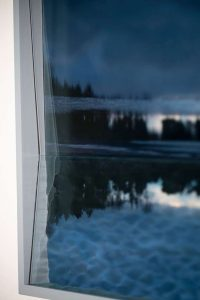 Brechung der Nordsee, © 2020, detail,  C-print framed with two different types of glass, 42,2 x 62,6 cm