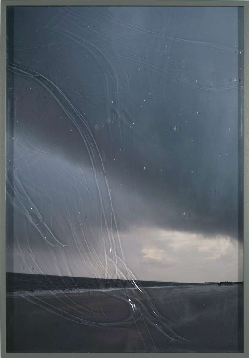 The Tempest, © 2020 C-print framed with blown glass, 63,2 x 44,2 cm